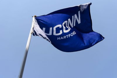 UConn Hartford flag