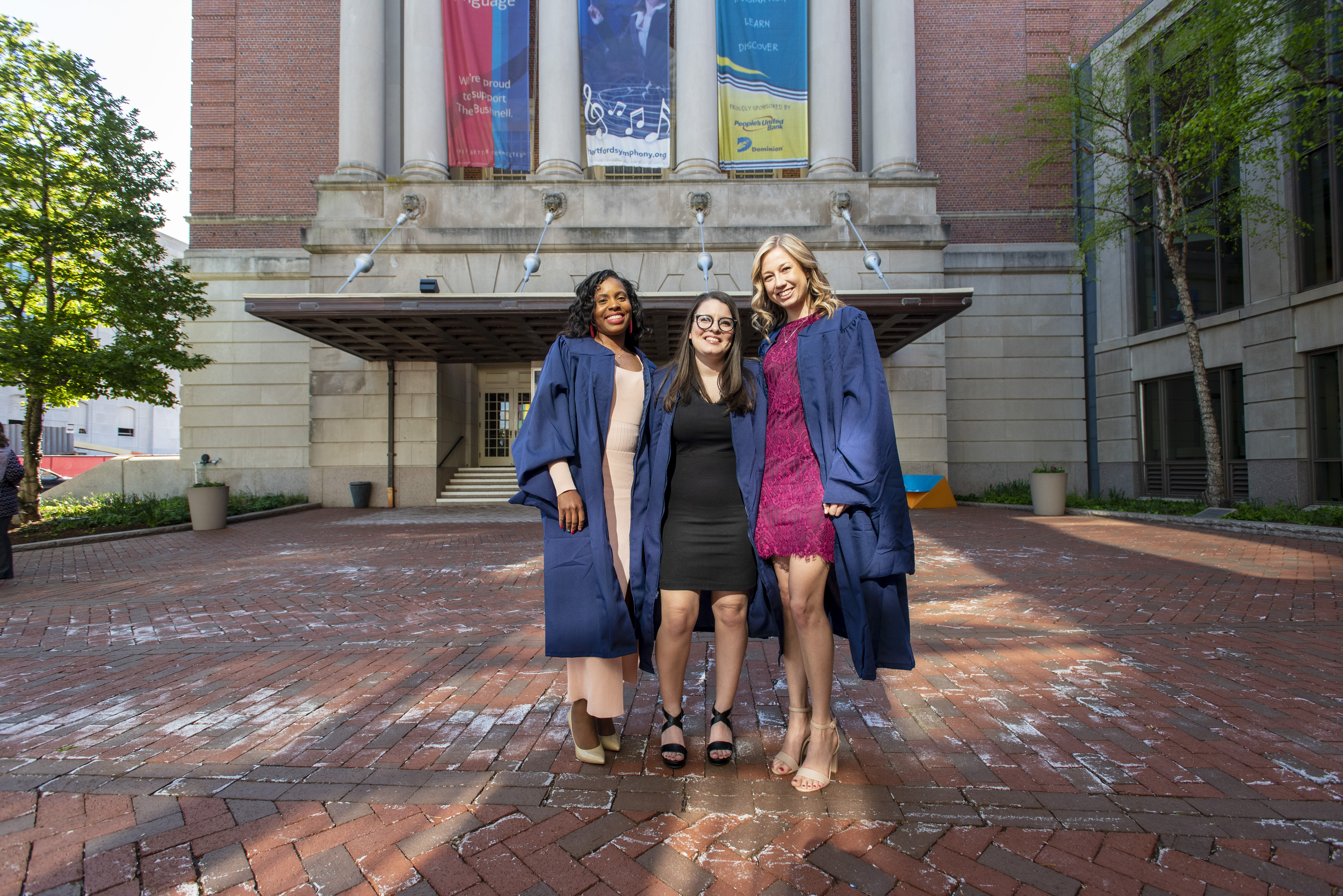 School of Social Work Commencement at the Bushnell on May 8, 2019. (Sean Flynn/UConn Photo)